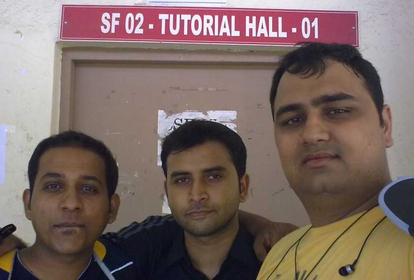 This Picture Was Taken 5 years after our college ended in fron t of the class in which were together punished for the firs time