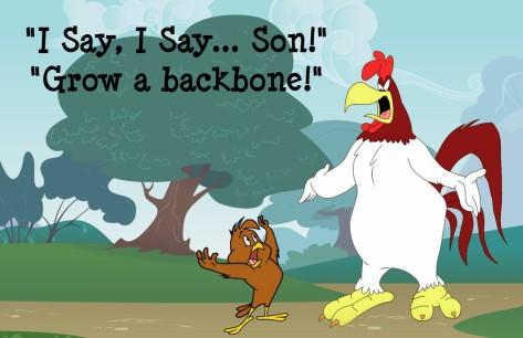 I say I say son Orlando Espinosa backbone